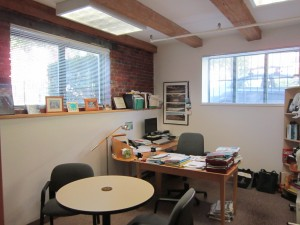 Suite 1 Corner office 2014
